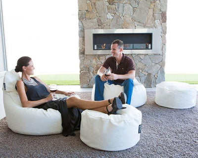 Epona Co. Indoor Bean Bag Range The Zen Chair Bone