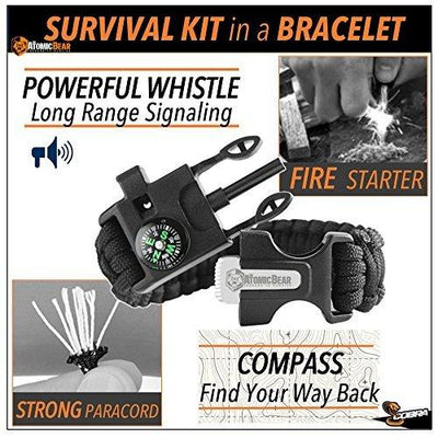 Cobra -  2 Adjustable Survival Bracelets