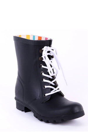 Evercreatures Black Beret Short Wellies