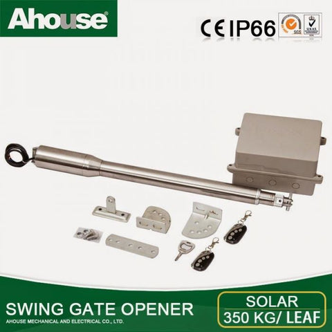 Ahouse single electric gate kit: Up to 4 meters/gate DT3+