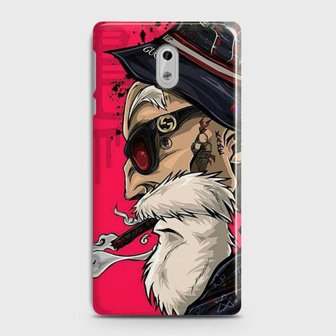 Master Roshi 3D Case For Nokia 3