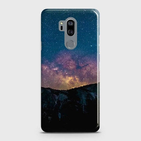 Embrace, Dark Galaxy 3D Trendy Case For LG G7 ThinQ