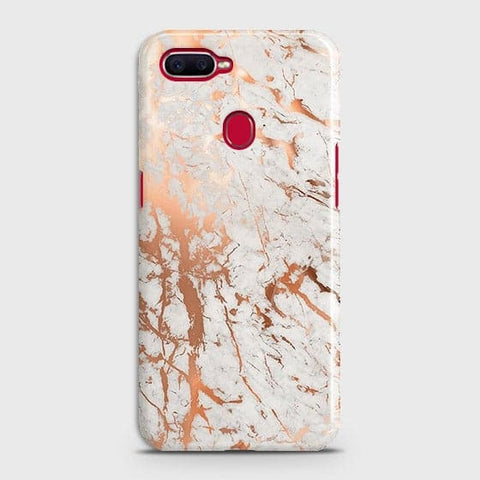 3D Print in Chic Rose Gold Chrome Style Case For Oppo A7