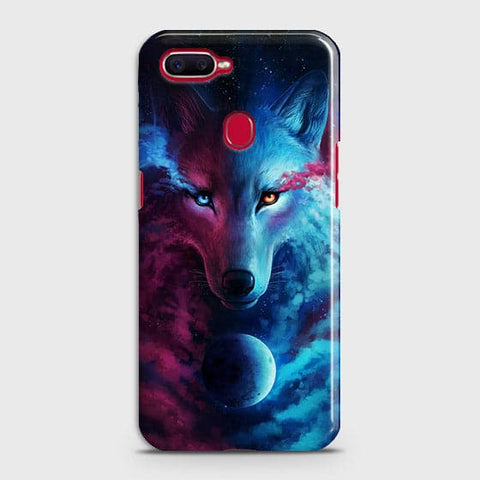 Infinity Wolf 3D Trendy Case For Oppo A7