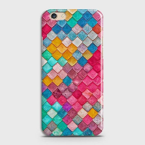 Chic Colorful Mermaid 3D Case For Oppo R9s Plus