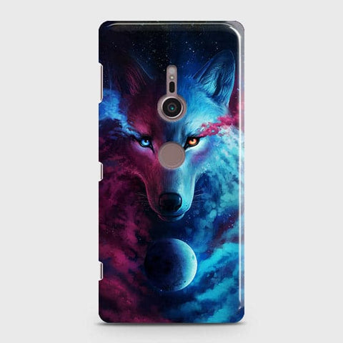 Infinity Wolf 3D Trendy Case For Sony Xperia XZ3