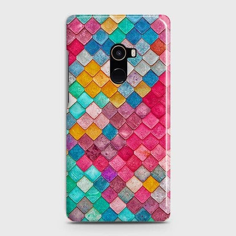 Chic Colorful Mermaid 3D Case For Xiaomi Mi Mix 2