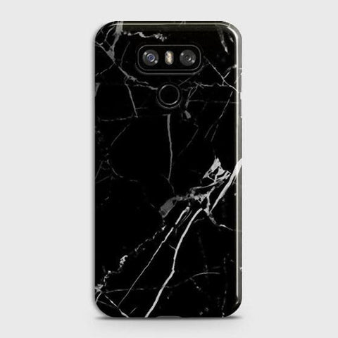 Black Modern Classic Marble Case For LG G6