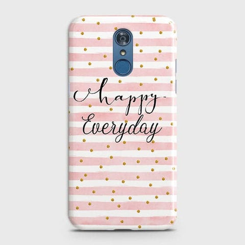 Trendy Happy Everyday Case For LG Q7
