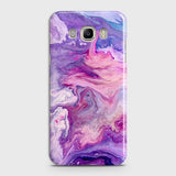 3D Chic Blue Liquid Marble Case For Samsung Galaxy J710