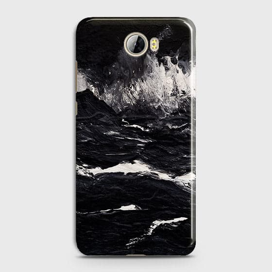 3D Black Ocean Marble Trendy Case For Huawei Y5 II