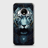 Vintage Galaxy 3D Tiger  Case For Motorola E4