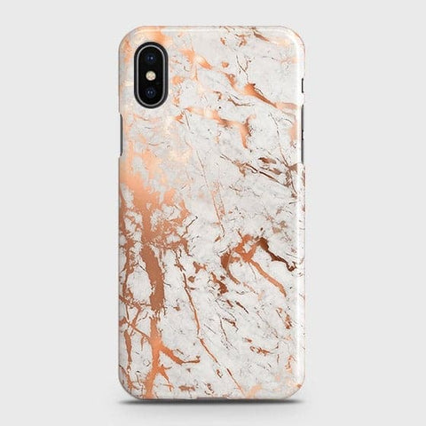 3D Print in Chic Rose Gold Chrome Style Case For iPhone XS Max