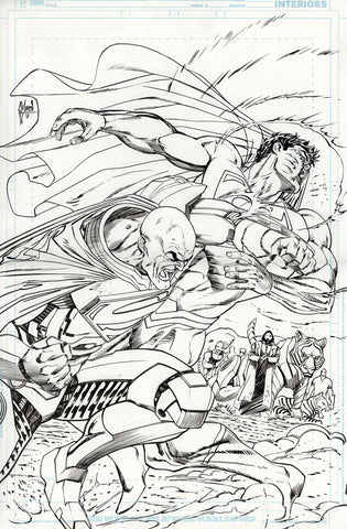Guillem March Original Art Action Comics #985 Page 20
