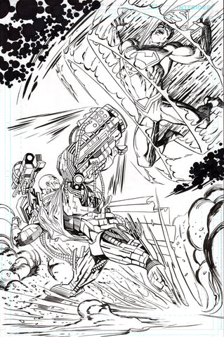 Guillem March Original Art Action Comics #986 Page 1