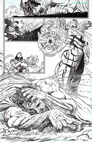 Guillem March Original Art Action Comics #986 Page 2