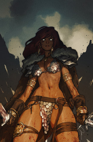 Red Sonja: Birth of the She-Devil #3 500 Limited Virgin Cover by Gerald Parel