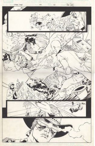 Paco Diaz Original Art X-Treme X-Men #4 P2