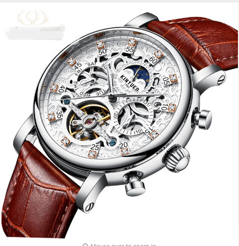 The Best 2019 Luxury Skeleton Automatic Watch For Men