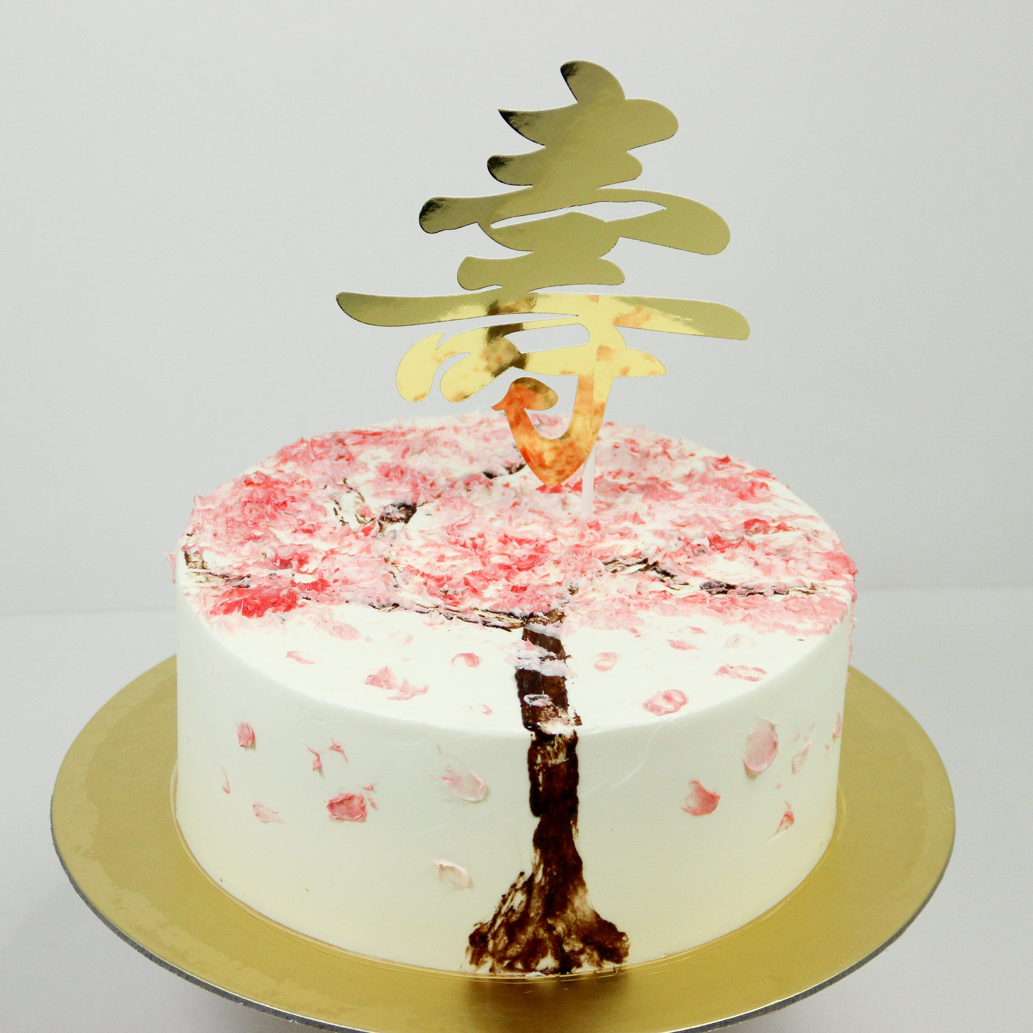 Painted Sakura Cake