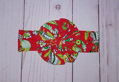 Girl's Fabric Bow Headband