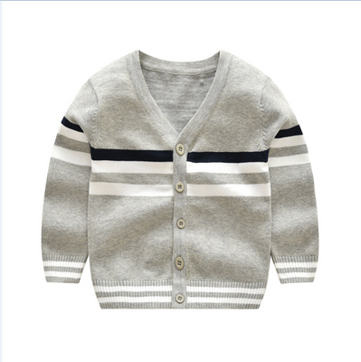 Boy's Cardigan Sweater