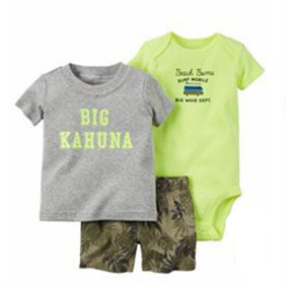 Infant Boy's 3PC  Short Set