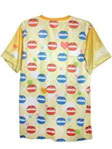 POP'N MUSIC ORANGE SHIRT
