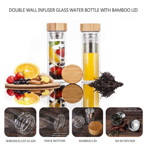 Tea Tumbler and Flowering Tea Gift Set