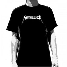 Load image into Gallery viewer, Metallica - Classic Logo T-Shirt