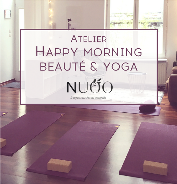 Happy Morning dynamisante Beauté & YOGA