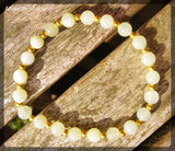 Lemon Jade Stretch Bracelet