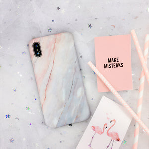 Vintage Marble Soft TPU SiliconeCase For iPhone X XR XS Max 7 8 Plus Capa