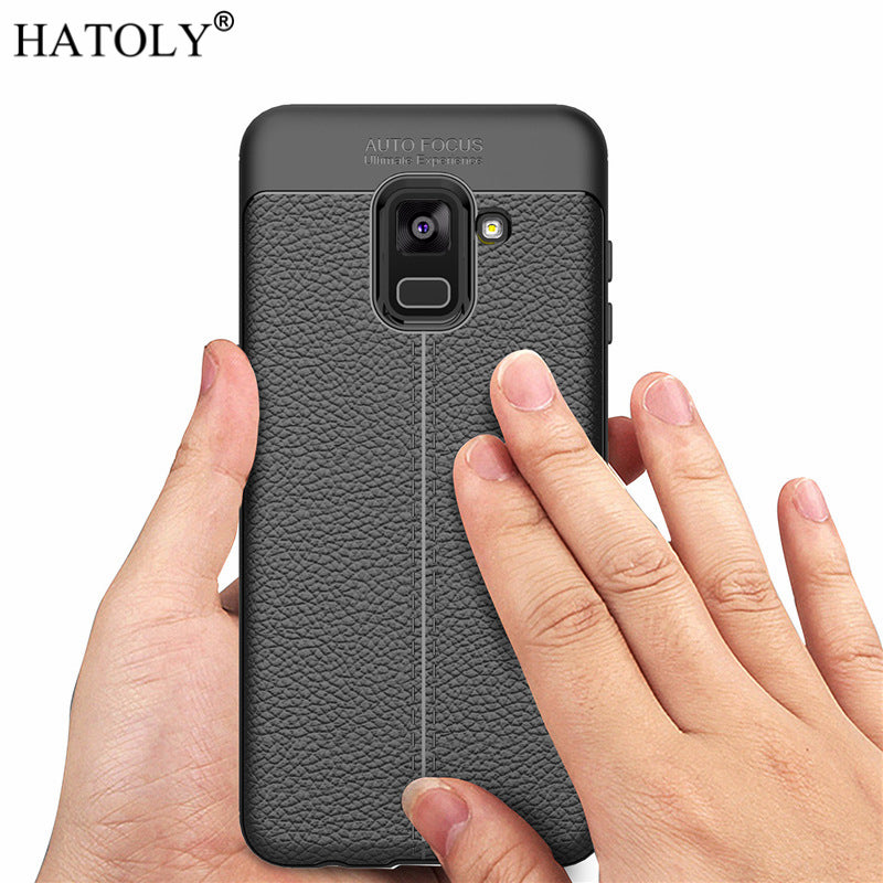 Rubber Silicon Soft Phone Case Cover for Samsung Galaxy A8 2018 A530F