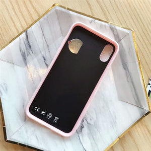 Game Machine Phone Case Unique Fashion Cute Candy Pink Classic Back Case Cover For iphone 8 7  XR XS XS MAX
