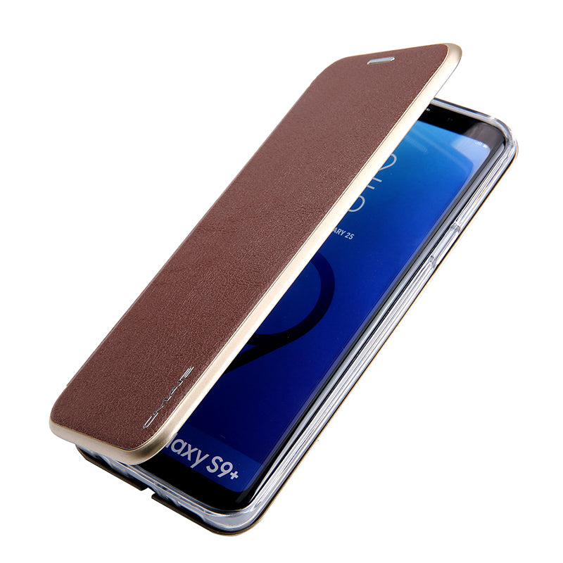 Magnetic Flip Leather Wallet Folding Bracket For Samsung Galaxy S8 Plus Case S9 Plus Note 8