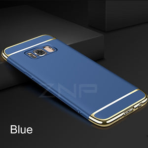 Luxury Ultra Thin Shockproof Case For Samsung Galaxy S8 S9 Plus Slim Full Case