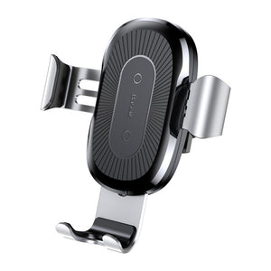 Qi Wireless Charger Gravity Car Mount Holder