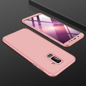 Full Protection Hard PC Shockproof Matte Case For Samsung Galaxy A6 & A6 Plus ( 2018 )