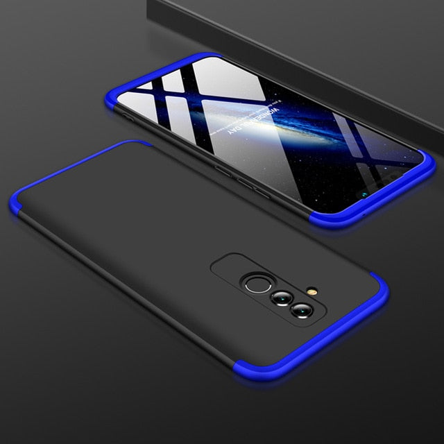360 Degree Full Protection Hard PC Shockproof Matte Case For Huawei Mate 20