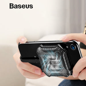 Newest Creative Mini Mobile Phone Cooler For iPhone X Xs Xs Max XR 7 8 Plus Game Cases with Audio Charging Cable Adapter