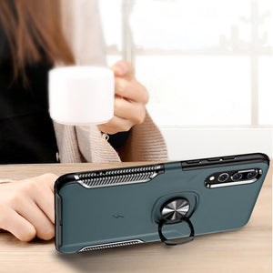 Luxury Invisible Bracket Case For Huawei