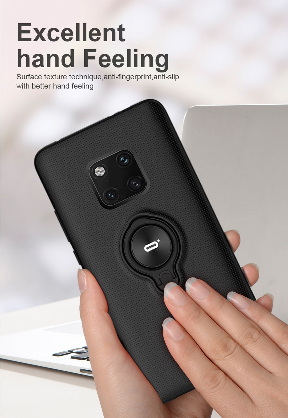 Magnetic Ring Case For Huawei Mate 20 Pro