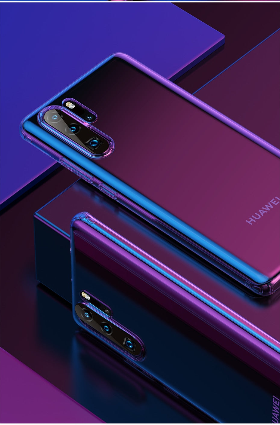 Luxury Plating Phone Case For Huawei P30