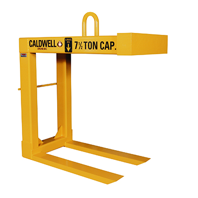 20 Ton Caldwell Heavy Duty Fixed Fork Pallet Lifter