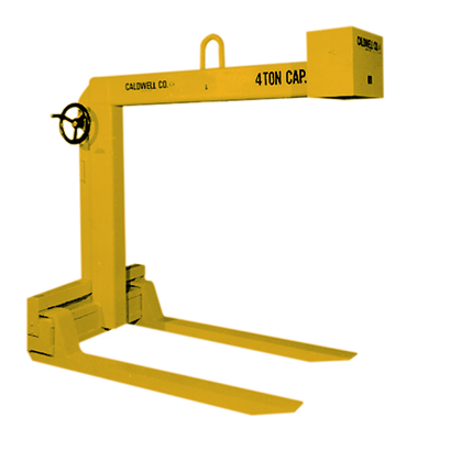 1 Ton Caldwell Hand Wheel Adjustable Pallet Lifter