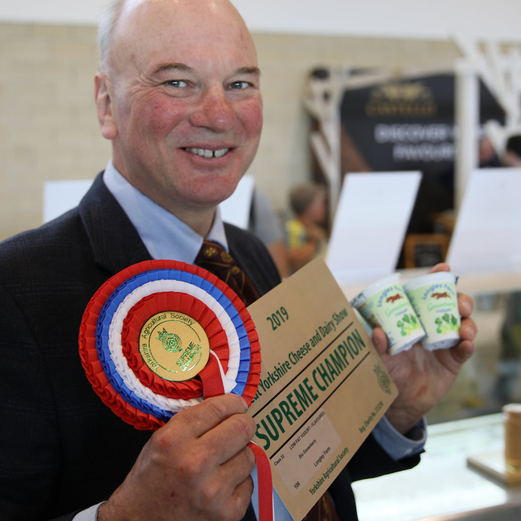 Gooseberry Yogurt Wins Supreme Champion Dairy Product