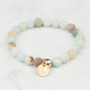 Luna Stackable Bracelet (8mm Beads)
