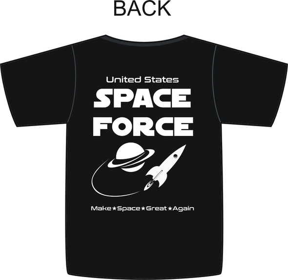 USSF Space Force Make Space Great Again T-Shirt