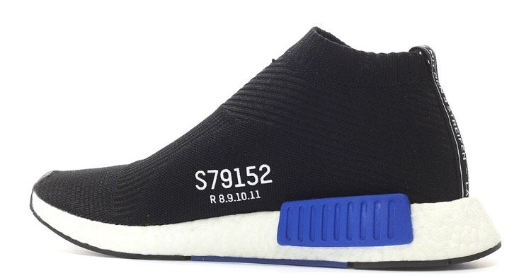 Adidas NMD CS1 City Sock Primeknit 'Black/Blue'